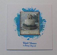 Papiernictvo - Vianočná pohľadnica - 11297181_