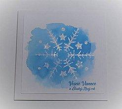 Papiernictvo - Vianočná pohľadnica - 11297193_