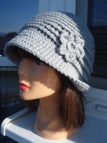 Čiapky - štýlový čiapko-klobučik - 11294819_