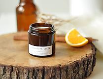 Svietidlá a sviečky - Pomarančový likér - sójová sviečka - 11297957_