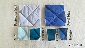 Textil - Vlnienka podložka do kočíka BABY JOGGER 100 % merino TOP SUPER WASH WOOL na mieru - 11293577_
