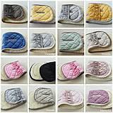Textil - Vlnienka podložka do kočíka BABY JOGGER 100 % merino TOP SUPER WASH WOOL na mieru - 11293581_
