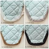 Textil - Vlnienka podložka do kočíka BABY JOGGER 100 % merino TOP SUPER WASH WOOL na mieru - 11293586_