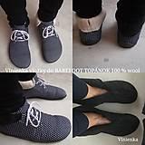 Obuv - Merino liners for barefoot gobi /vložky Merino wool - 11297104_