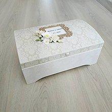 Krabičky - Svadobná truhlica - 11297830_