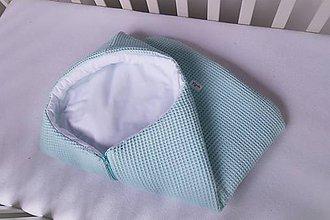 Textil - Zavinovačka Nr.907 - spací vak mentolový - 11296431_