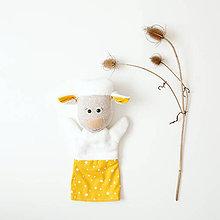 Hračky - Maňuška ovečka - 11297540_