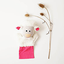 Hračky - Maňuška ovečka - nová - 11297548_