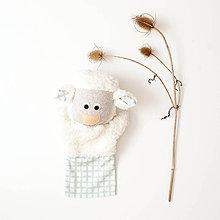 Hračky - Maňuška ovečka - nová - 11297552_