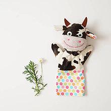 Hračky - Maňuška kravička - 11297719_