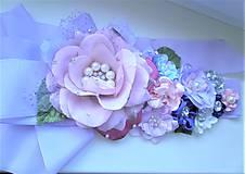 Opasky - Kvetinový opasok - 11294788_
