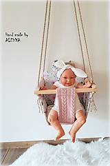 Textil - Hojdačka pre najmenších - 11297521_