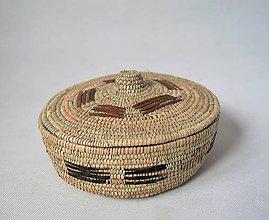 Krabičky - Prútená šperkovnica - Vianočná zľava - 11297792_