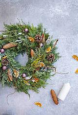 Dekorácie - Vianočný veniec na dvere - možnosť dodať na určitý dátum!!! - 11296116_