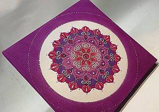 Obrazy - Mandala z piesku Gloria - 11294956_