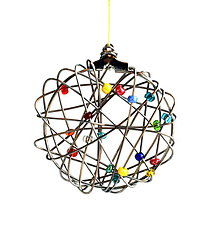 Dekorácie - Magický vianočný kruh - 11298106_