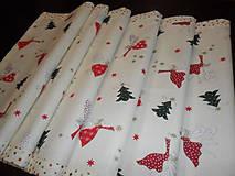 Úžitkový textil - Vianočný obrus stredový. - 11294863_