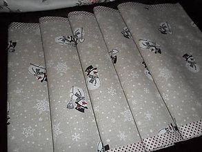 Úžitkový textil - Vianočný obrus stredový. - 11294693_