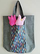 Nákupné tašky - Úhledná v kabelce i s nákupem - 11297458_