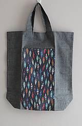 Nákupné tašky - Úhledná v kabelce i s nákupem - 11297462_