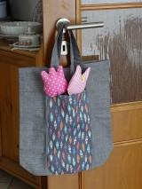 Nákupné tašky - Úhledná v kabelce i s nákupem - 11297472_
