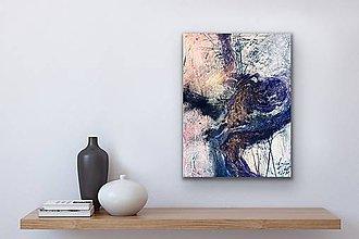 Obrazy - Indigo tree - 11296813_