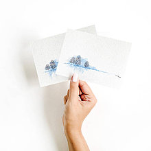 Obrazy - Sada maľovaných pohľadníc - 11294469_