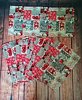 Úžitkový textil - Vianočná prestieranie a štôla - 11294919_