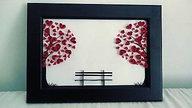 Obrazy - 3D obrázok - romantické zátišie - 11293939_