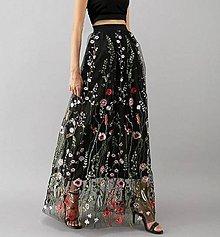 Sukne - Tylová sukně - 11295612_