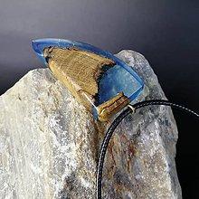 Náhrdelníky - Modrý agát - 11294582_