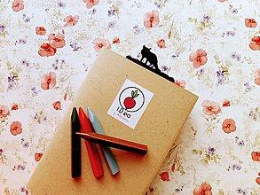 Papiernictvo - Záložka do knihy - líška (Strieborná) - 11294648_