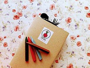 Papiernictvo - Záložka do knihy - ježko (Strieborná) - 11294657_