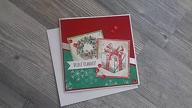 Papiernictvo - ...pohľadnica vianočná... - 11293640_