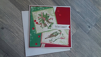 Papiernictvo - ...pohľadnica vianočná... - 11293661_