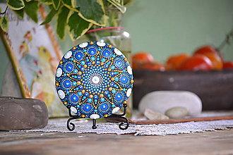 Iné šperky - Mandala Zlatomodra - 11294211_