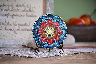 Socha - Mandala Sestra Nadherne modrej - 11295395_