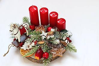 Dekorácie - Adventný svietnik3 - 11294442_