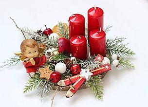 Dekorácie - Adventný svietnik2 - 11294973_