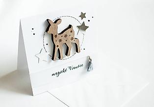 "Papiernictvo - Magické Vianoce "" srnka "" - 11298070_"