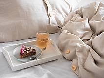 Úžitkový textil - Ľanové posteľné obliečky - 11297197_