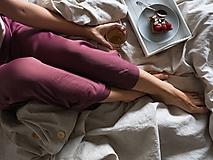 Úžitkový textil - Ľanové posteľné obliečky - 11297205_