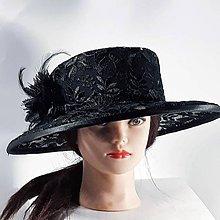 Čiapky - Krajkový klobúk - 11296320_