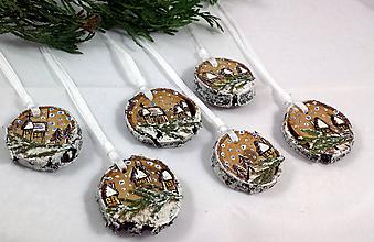 Dekorácie - Vianočné ozdoby Vianoce - 11296932_