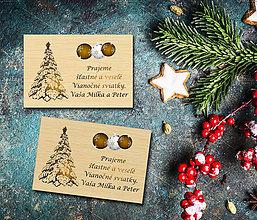 Magnetky - Vianočná magnetka - 11300183_