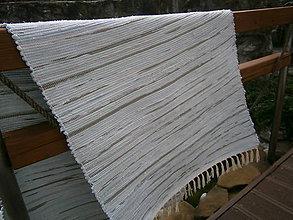 Úžitkový textil - tkany koberec mentolovy - 11299009_