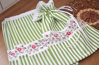 Úžitkový textil - Vidiecke vrecúška - 11301565_