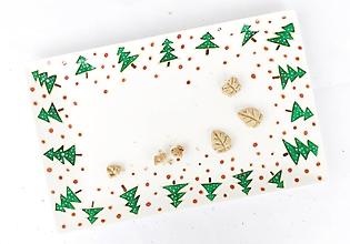 Nádoby - Vianočná tácka na koláčiky - 11301400_