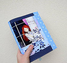 Papiernictvo - Mila s mačičkou...uni obal na knihu - 11298437_