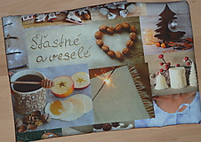 Úžitkový textil - Štóla Slovenské Vianoce - 11300865_